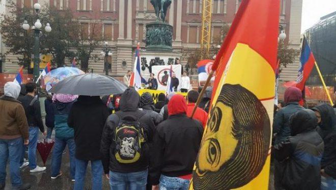 Protestë në Beograd kundër Ligjit të Trepçës
