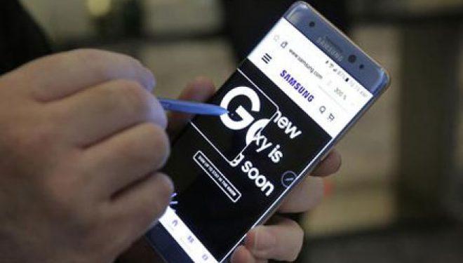 Galaxy Note 7 evakuon edhe avionin