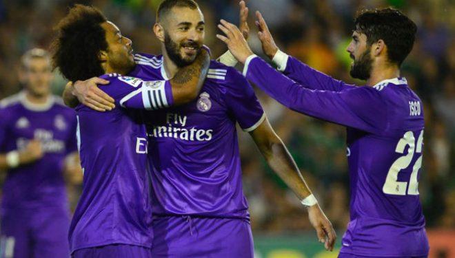 Real Madridi përgjigjet me goleadë e spektakël