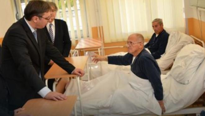 Shqiptari i Dobrosinit në Nish, Vuçiçit në sy: Fshatin ma keni zbrazur. Atje dikur kishte 172 familje, sot vetëm 52 !?