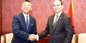 Alarmi për drogën, ambasadori Lu takohet me presidentin Nishani