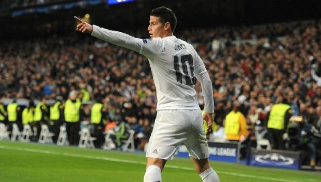 James Rodriguez drejt Manchester United