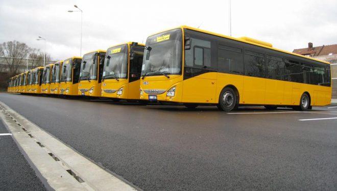 Autobusët e ri që pritet të vijnë në Prishtinë (Foto)