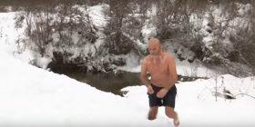 Ja çfarë bën në pikë të dimrit ish-ushtari i UÇK-së (VIDEO)