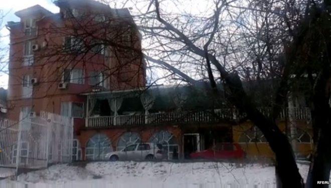 Shpërthim në ndërtesën e qeverisë së Kosovës në veri të Mitrovicës