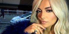 Mahnit Bebe Rexha! Bën shqiponjën dykrenare (Foto/Video)