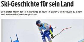 Albin Tahiri shkruan historinë për Kosovën në skitari