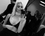 Kim Kardashian bëhet sërish bjonde (Foto)