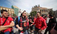 Shqiptarët 'pushtojnë' Palermon, këto FOTO na bëjnë krenar