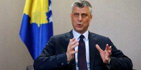 Thaçi: Krijimi i Ushtrisë së Kosovës nuk mund të mbetet peng i Serbisë