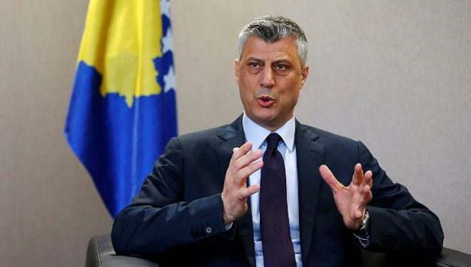 Thaçi: Kosova kërkon marrëveshje përfundimtare me Serbinë