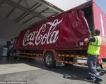 """Policia duke hetuar për """"mbetje njerëzish"""" të gjetura në kanaqe të Coca-Cola's"""