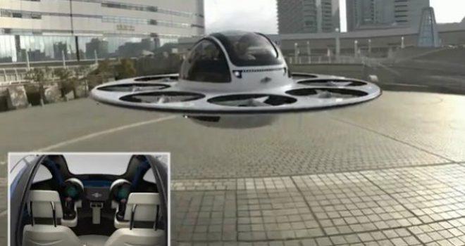 """Krijohet droni """"UFO"""" që mban 2 persona (Video)"""