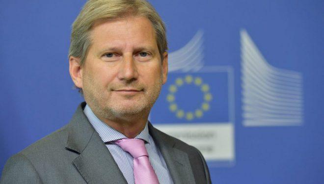 Hahn: Duhet të arrihet zgjidhje afatgjatë mes Kosovës dhe Serbisë
