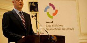 Thaçi: Klubi i Biznesit Frankofon do t'i rris shkëmbimet tregtare