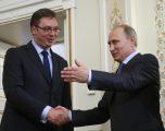 Vuçiq takohet me Putinin disa ditë para zgjedhjeve në Serbi