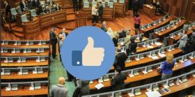 """Deputeti që ia bën """"like"""" vetes (Foto)"""
