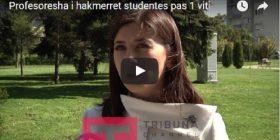 Postimi në FB para 1 viti i kushtoi studentes- Ja s'i hakmerret profesorja e fakultetit ekonomik (VIDEO)