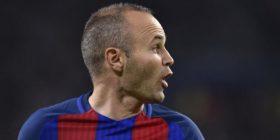 Iniesta trondit Barcelonën