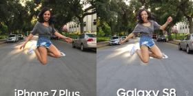 Kush e kamerën më të mirë Samsung S8 apo iPhone 7+, shikojeni dallimin (Video)