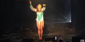 Linda refuzoi të këndojë playback, ndërpret koncertin e Eurovisionit në Amsterdam (Video)