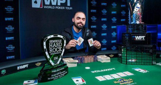 Shqiptari fitoi kampionatin e pokerit në SHBA (Foto)