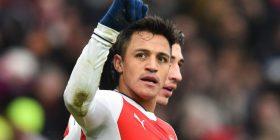 Alexis Sanchez gëzon Topçinjtë