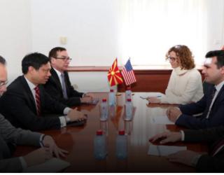 Takimi Hojt Ji – Zaev: Programi qeveritar garanton unitaritetin e Maqedonisë