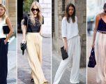 Trendi më i ri i këtij sezoni, pantallona të gjëra (FOTO)