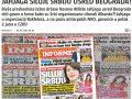 """Mediat serbe: Sulm i ri i shqiptarëve, Jahjaga """"përdhunon"""" Serbinë në mes të Beogradit"""