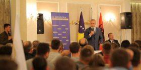 Ramush Haradinaj: Jemi bërë bashkë për t'i  dal zot përgjegjësive shtetërore