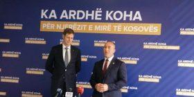 Princ Leka II në selinë e AAK-së: Gjithmonë do te jemi ne shërbim te Kosovës dhe popullit shqiptar