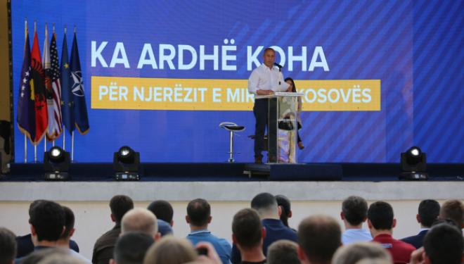 Ramush Haradinaj: Kosovë të dua, të shërbej pa kushte