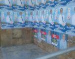 Kandidatët e LDK-së për deputet, mbulojn me postera objektin e Administratës Komunale në Gjilan (Foto)