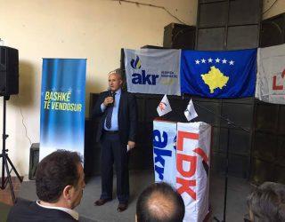 LDK-AKR Kamenicë: Me 11 qershor në Kamenicë triumfon koalicioni i shpresës dhe i besës