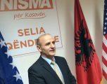 """Sherifi i Nismës i reagon Thaçit, """"Propozimet për ndarje të Kosovës gjithmonë kanë ardhur nga Serbia"""""""