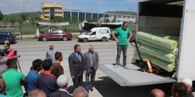 Gjilani shpërndan foli plastike për 322 fermerë