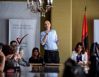 Kryetari i Vetëvendosjes shpalos programin te gjakovaret