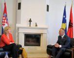 Haradinaj takohet me ambasadoren kroate, flasin për krijimin e Qeverisë
