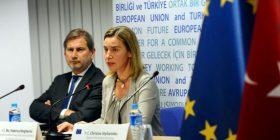 Hahn e Mogherini vlerësojnë zgjedhjet në Shqipëri