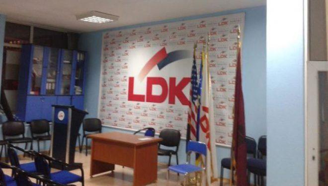 LDK-ja akuzon Thaçin se është i pa autorizuar për bisedime me Serbinë