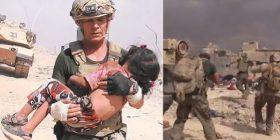 Ushtari amerikan 'hyn në mes të plumbave' për ta shpëtuar një vajzë nga ISIS-i (VIDEO)