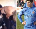 Bëri se* me tifozen gjatë ndeshjes,cfarë ndodhi me futbollistin (Foto +16)