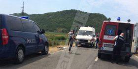 Aksident në Shkodër- Velipojë, tre të plagosur (Foto)