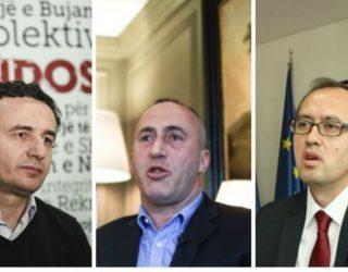 Me afrimin e zgjedhjeve, Haradinaj, Hoti e Kurti i shtojnë premtimet