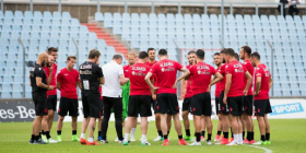 Formacioni i mundshëm i Shqipërisë kundër Luksemburg