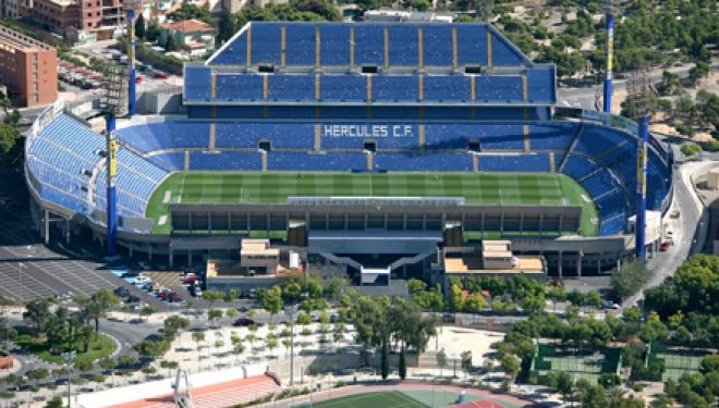 Spanja ndaj Shqipërisë, stadiumi i ndeshjes në Alicante