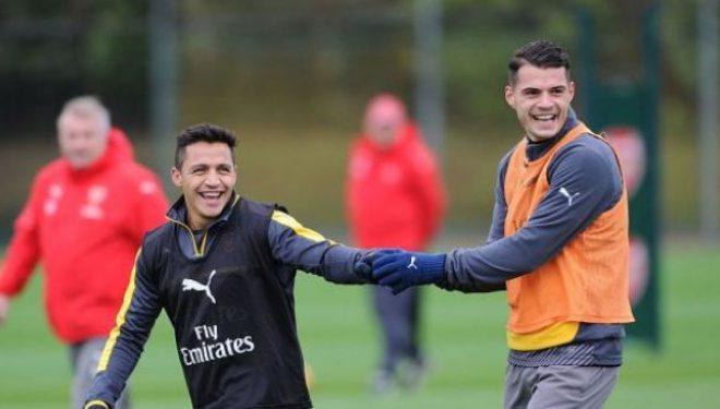 Xhaka tregon nëse Ozil dhe Sanchez do të qëndrojnë në Arsenal (Foto)