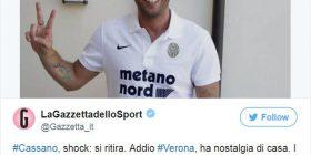 Ish lojtari i Milanit befason duke u tërhequr nga futbolli (FOTO)
