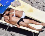 Scherzinger i mëson jogan partnerit (Foto)